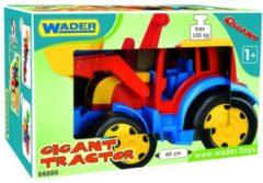 Wader Mega grote Tractor, voor kind vanaf 1 jaar, Afm. 55 x 36 x 32 Cm.