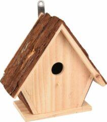 WorldPet Flamingo Nestkastje gisel hout natuur 24x12,5x24cm