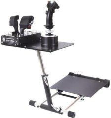 Zilveren Wheel stand pro wheel stand pro voor thrustmaster hotas warthog™ en saitek x-52/x55/pro