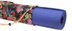 #DoYourYoga - Kleine yogatas - »Rukmini« - yoga, fitness, gymnastiek - L 67 x 13 cm - Bloemen