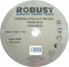 Doorslijpschijf Metaal Robust XSRB-0020 230Mm X 22Mm X 3Mm Set 5 Stuks