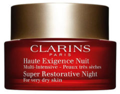 Clarins - Haute Exigence Exigence Nuit Super Restoratieve Night creme - for every dry skin - 50ml