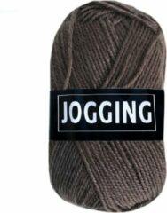 Beijer BV Jogging dunne sokkenwol acryl en wol - bruin - naald 2,5 a 3