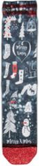 XPOOOS 70090 CHRISTMAS Blauw, Maat 36/41