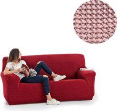 MeubelVisie Milos meubelhoezen - Bankhoes - 130-180cm - Roze - Verkrijgbaar in verschillende kleuren!
