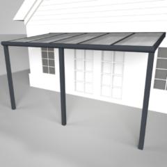 Westwood | Aluminium Terrasoverkapping Calisto 506x250 | Antraciet