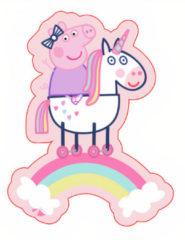 Nickelodeon Kussen Peppa Pig Meisjes 36 Cm Polyester Roze