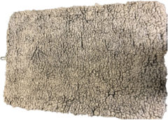 Adori Benchmat Sheepskin Grijs - Hondenbenchkussen - 91X56 cm