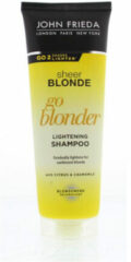 John FriedaSheer Blonde Go Blonder Lightening Shampoo - 250 ml