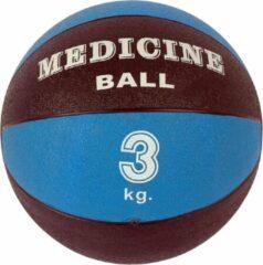 Medicijn bal 3 kg | Blauw-Zwart | Fitness bal | Slam ball | Mambo Max