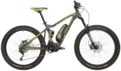 27,5+ Elektro Fully Mountainbike 10 Gang Atala Shocker Atala grau
