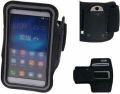 BestCases Huawei Ascend G535 Zwart Sport Armband Neopreen