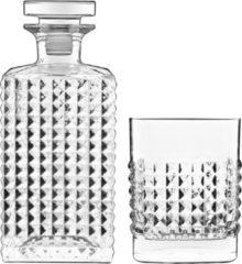 Luigi Bormioli Elixir - Whisky Set Met Karaf 75 Cl / 25¼ Oz En 4 Whiskyglazen 38 Cl / 12¾ Oz