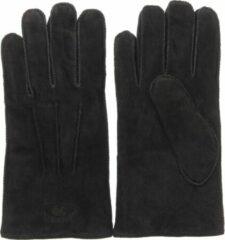Zwarte Warmbat Heren Leren Handschoenen - Glo4010 - 8 1/2