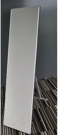 Afbeelding van Douche Concurrent Passpiegel Wiesbaden Duo 160x42cm Geintegreerde LED Verlichting Lichtschakelaar met Wegklapbare Vloersteun