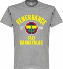 Merkloos / Sans marque Fenerbahce Established T-Shirt - Grijs - S