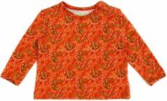 Oranje Lily Balou Baby Tshirt Francis Foxes - 56