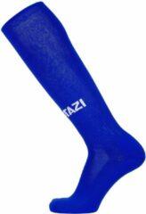 Jartazi voetbalsokken soccer polyester blauw 3 paar maat