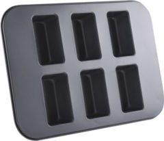 Sonstiges FISKO Mini-Kastenkuchen Backformblech mit 6 Förmchen