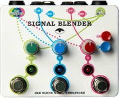 Old Blood Noise Endeavors Signal Blender Parallel Effect Blender / Mixer / Router Pedal