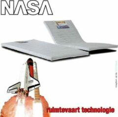 Witte Comforter topper NASA-VISCO-Traagschuim topmatras 6,5cm dik CoolTouch VISCO VENTI-foam Topdek matras 180x200cm