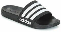 Zwarte Teenslippers adidas ADILETTE SHOWER