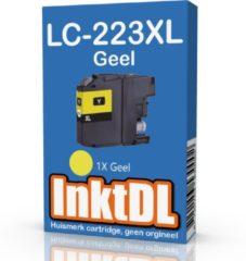 INKTDL inktcartridge voor LC-223 / LC-221 | Geel