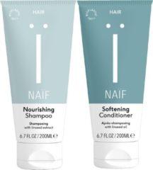 Naïf natuurlijke Shampoo & Conditioner - 2 x 200ml - voordeelverpakking