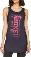 Paarse Boxeur Des Rues WOMAN OVERSIZE TANK TOP WITH VERTICAL LOGO