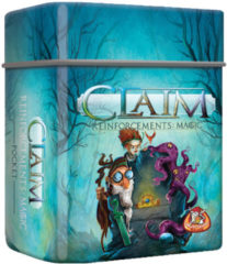 Blauwe White Goblin Games uitbreiding Claim Reinforcements: Magic Pocket (NL)