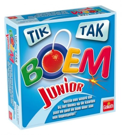 Afbeelding van Goliath Gezelschapsspel - Tik Tak Boem Junior