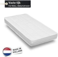 Witte For Kidzz.. Babymatrassen For Kidzz.. Babymatras 55x110 x 10 cm - polyether