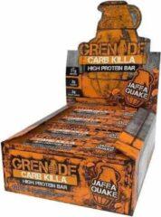 Grenade Carb Killa Bars - Proteïne Repen - Jaffa Quake - 12 eiwitrepen
