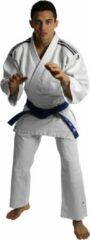 Adidas Judopak J350 Club Junior Judopak - Unisex - wit/zwart Maat/ Lichaamslengte 130 cm