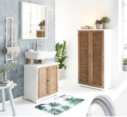 MiaVILLA Handtuchhalter Sia, Metall;Holz