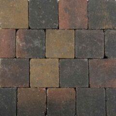 Bruine 60 stuks! Pebblestone loe bar 15x15x6 cm Gardenlux