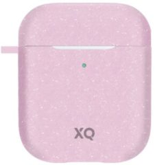 Roze XQISIT Eco Case for AirPods pink