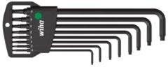 LegaMaster Wiha Stiftsleutelset in Classic houder TORX® kogelkop 8-delig chemisch gezwart in blister (32395)