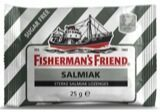 Fishermans Friend Salmiak Sterke Salmiak Lozenges Suikervrij Zwart/Wit