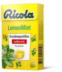 Ricola LemonMint Kruidenpastilles Suikervrij