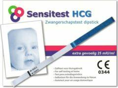 Sensitest zwangerschapstest dipstick 6 stuks