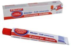 Witte Collall alleslijm tube 50ml krimp a 6 stuks