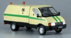 Pathnk Russian Security Van 1/43 De Agostini - Modelauto - Schaalmodel - Model auto