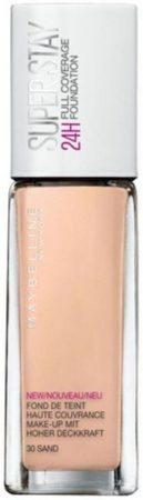 Afbeelding van Maybelline Superstay Full Coverage Foundation (30 ml) 34 soft bronze