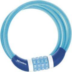 Blauwe MasterLock Gevlochten stalen kabelcijferslot 1,2mx10mm 8231EURDPRO
