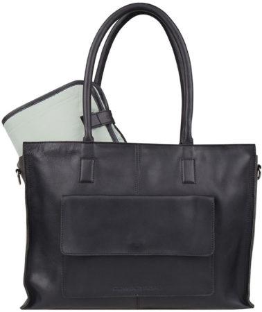 Afbeelding van Zwarte Cowboysbag-Luiertassen-Diaper Backpack Oburn-Zwart