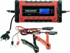 Rode ABSAAR Smartlader PRO6.0 6A 12/24V - Geschikt voor alle 12/24 Volt Accu's tot 180Ah