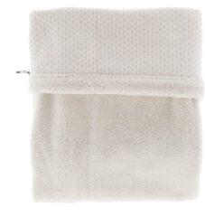 Snoozebaby ledikant deken dubbellaags van organic katoen en gerecycled polyester - 100x150cm - T.O.G. 2.0 - Stone Beige beige