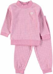 Feetje Wafel Pyjama Roze Melee Mt. 68