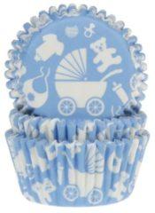 RØDE House of Marie Cupcake Vormpjes Baby Blauw pk/50